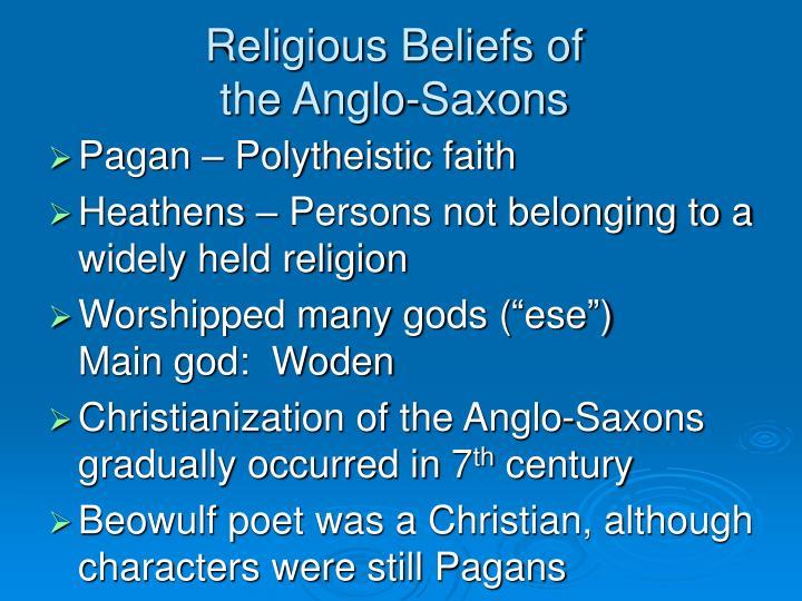 Religious Beliefs of
