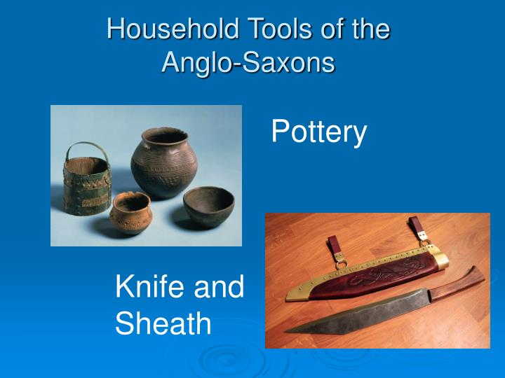 Household Tools of the