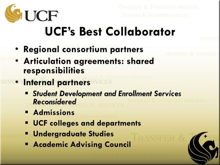 UCF's Best Collaborator