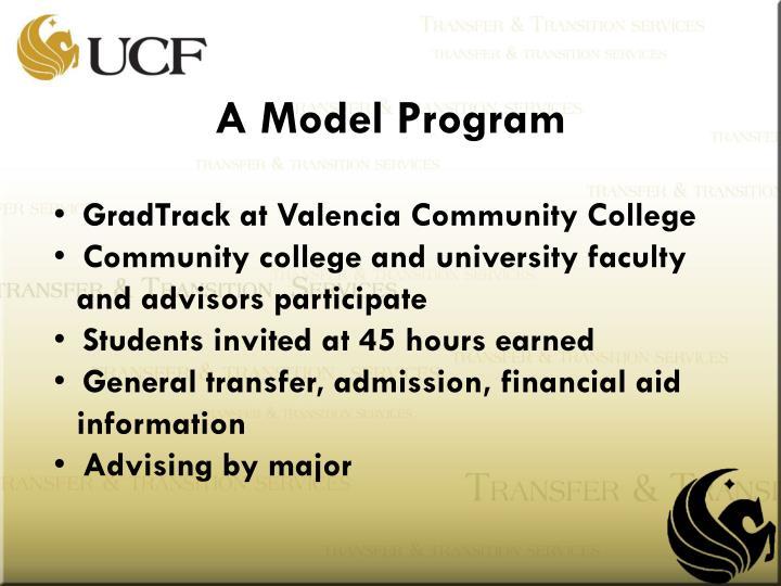 A Model Program