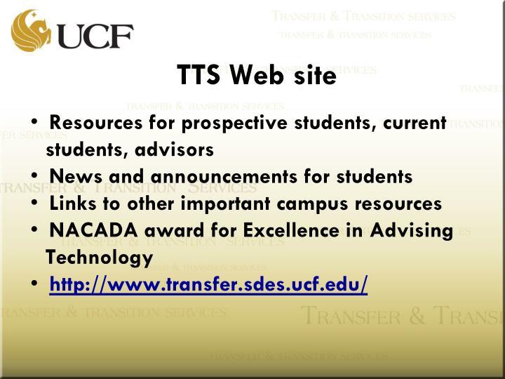 TTS Web site