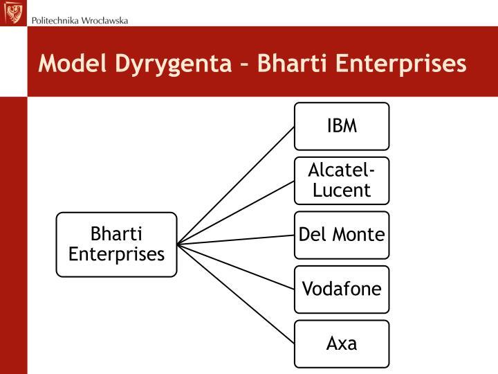 Model Dyrygenta – Bharti Enterprises