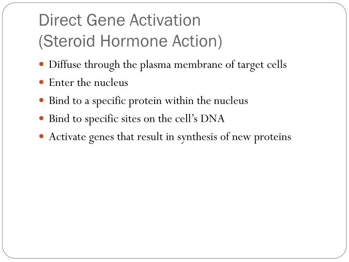 Direct Gene Activation