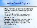 water cooled engines