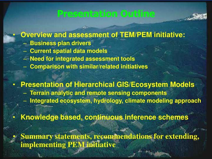 Mapping and simulation of heterogeneous ecosystems larry band university of north carolina1