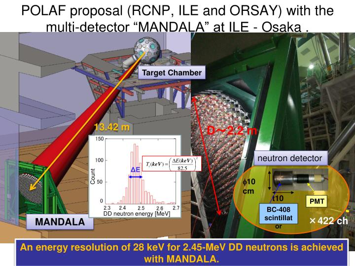 POLAF proposal (RCNP, ILE and ORSAY) with the