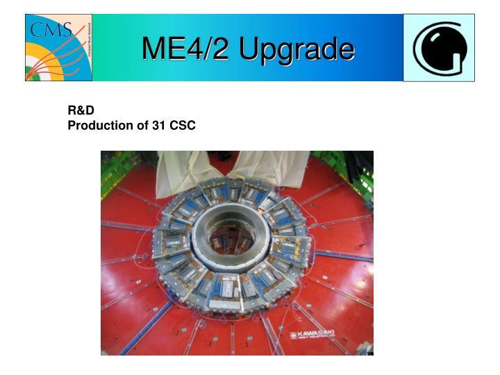ME4/2 Upgrade