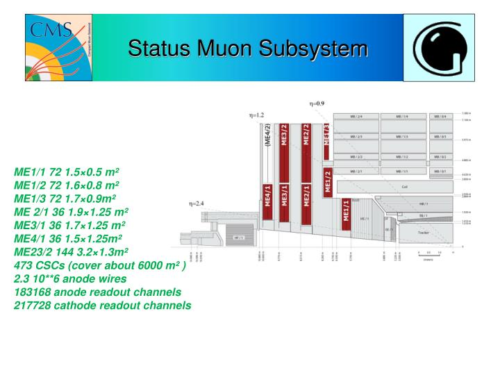 Status Muon Subsystem