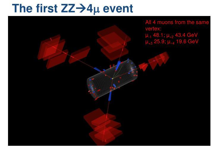 The first ZZ