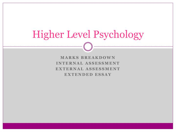 business internal assessment (hl) essay Well, it's true that you can't really seek others help for the math studies internal assessment, but you can always find online resources to help you find the perfect topic for your assessment.