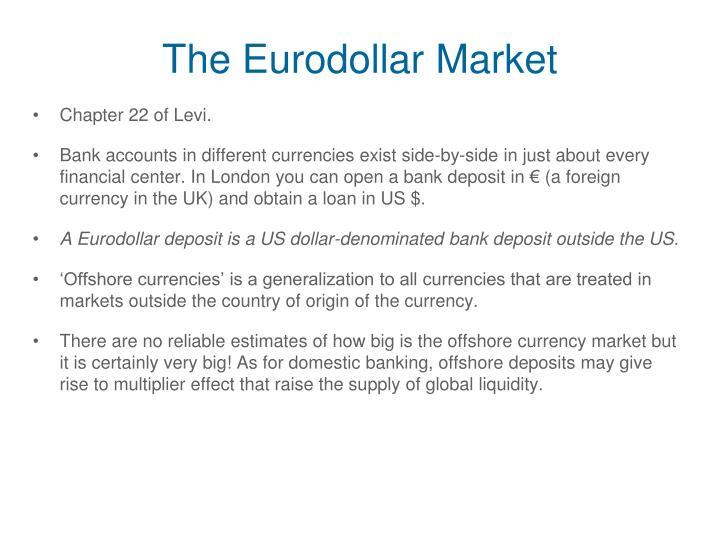 The Eurodollar Market