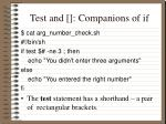 test and companions of if2