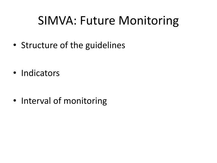 SIMVA: Future Monitoring