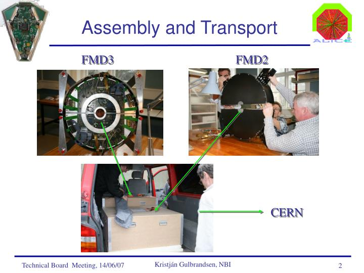 Assembly and transport