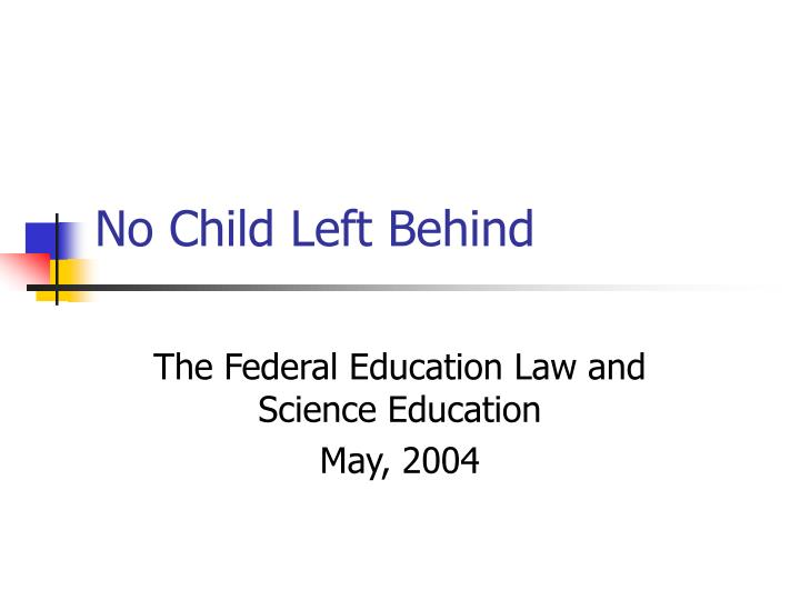 no chid left behind acts 2002 List of cons of the no child left behind act 1 doubts of the acts effectiveness in the eyes of the opponents of the nclb, which include major teachers' unions, the act has not been effective in improving education in the public arena, especially in high schools, as proven by combined results of standardized tests since the act's inception.