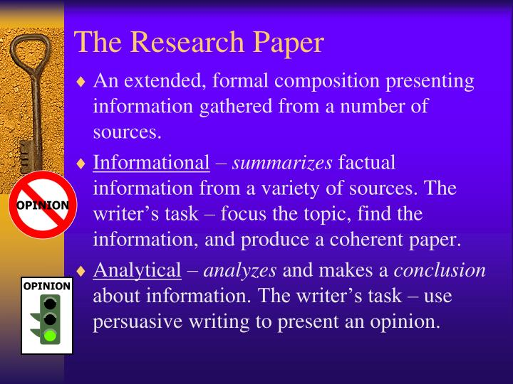 The research paper1