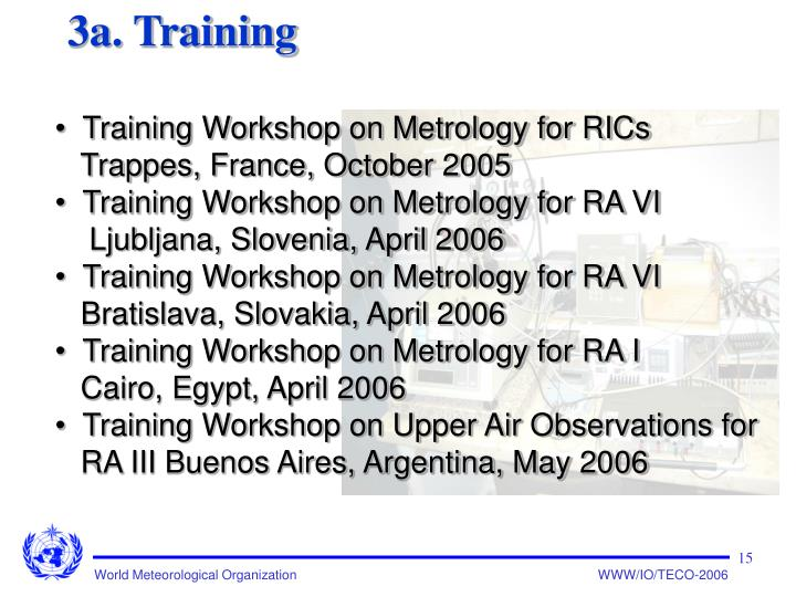 3a. Training