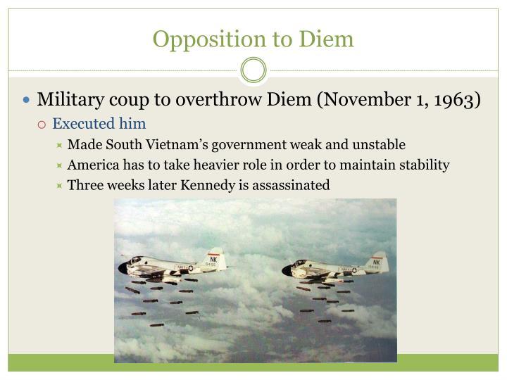 Opposition to Diem