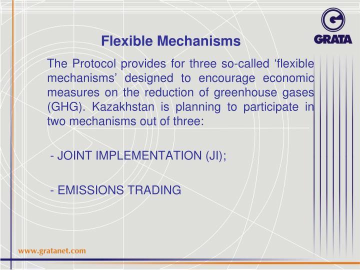 Flexible mechanisms