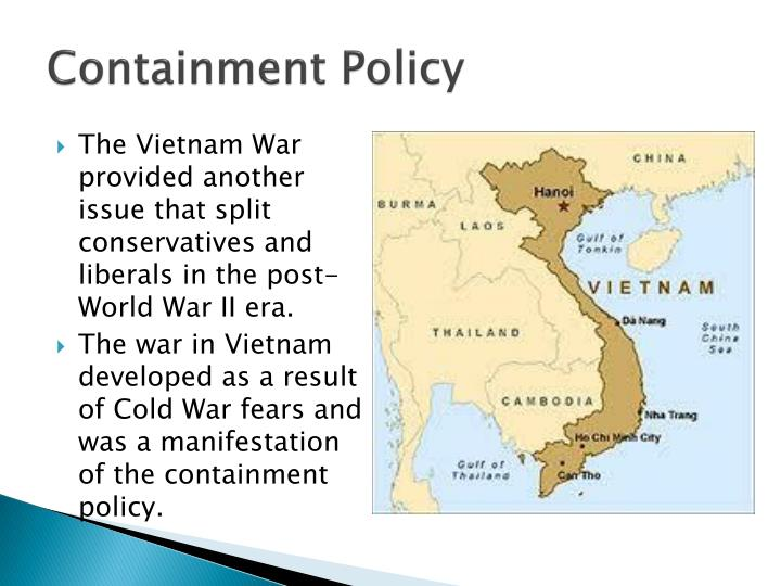 an analysis of the policy of containment in the united states Historical analysis of the cold while the united states' centered around western american foreign policy became one of containment as it reacted to the cold.