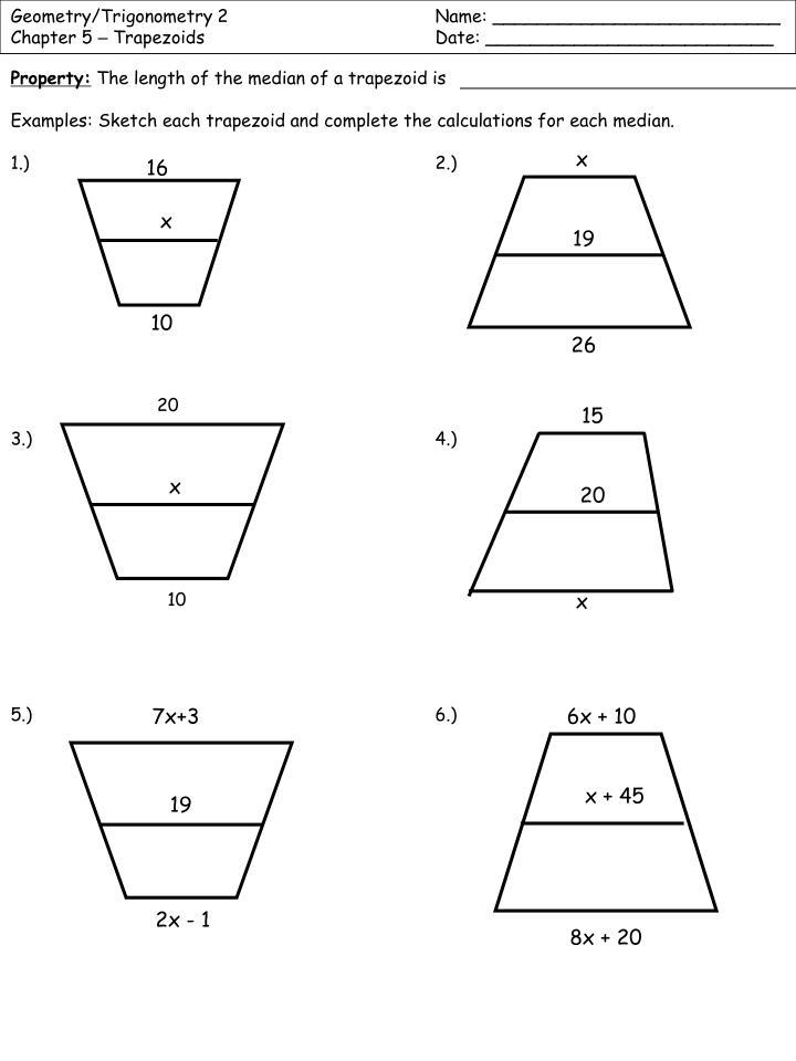 Geometry/Trigonometry 2Name: __________________________