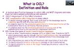 what is ocl definition and role