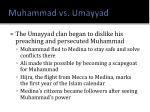 muhammad vs umayyad