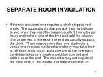 separate room invigilation2