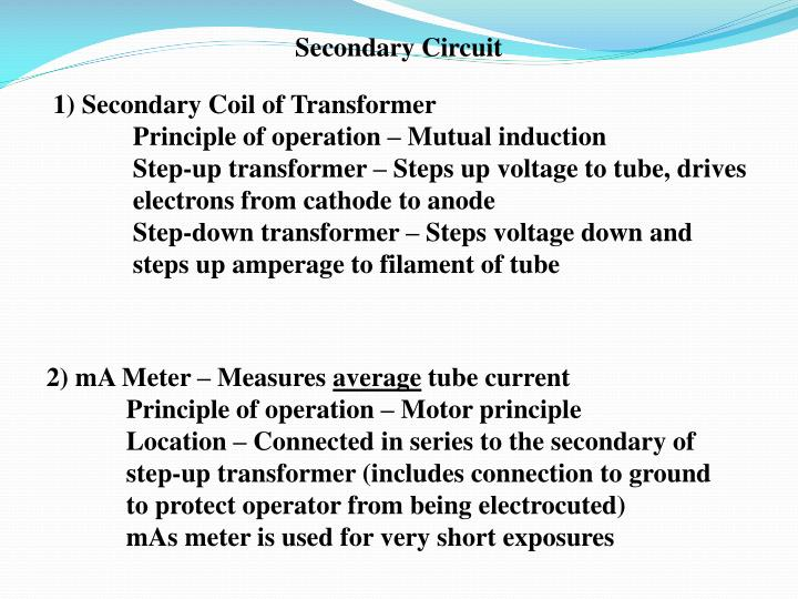 Secondary Circuit
