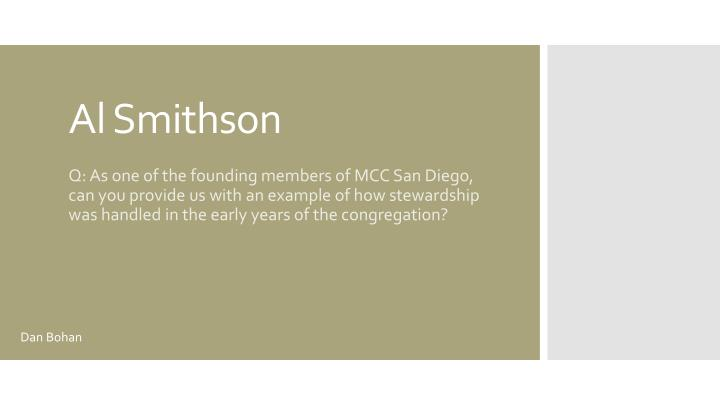 Al smithson