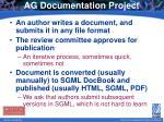 ag documentation project1