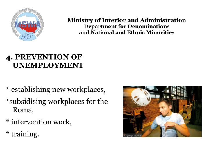 Ministry of Interior and Administration
