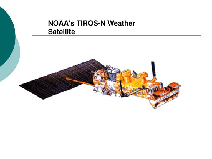 NOAA's TIROS-N Weather Satellite