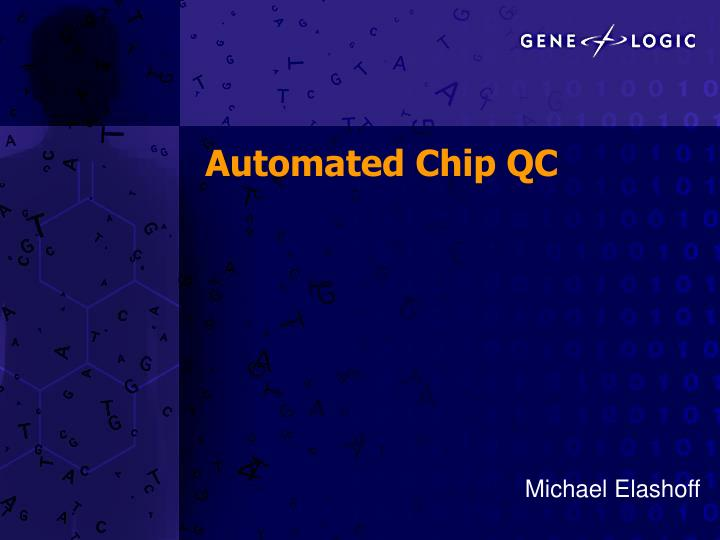 automated chip qc n.