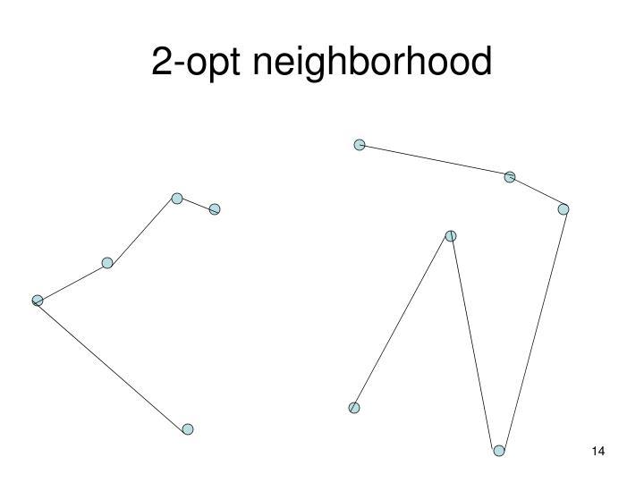 2-opt neighborhood