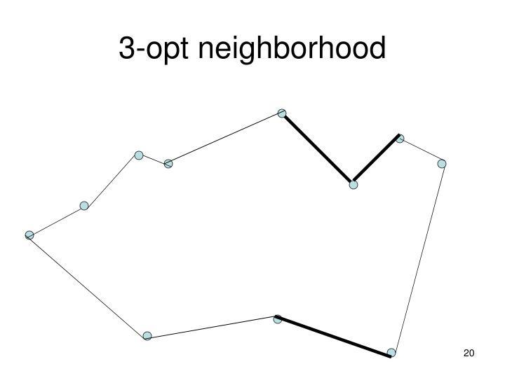 3-opt neighborhood