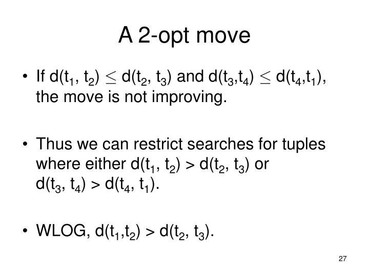 A 2-opt move