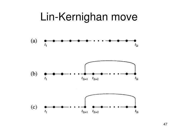 Lin-Kernighan move