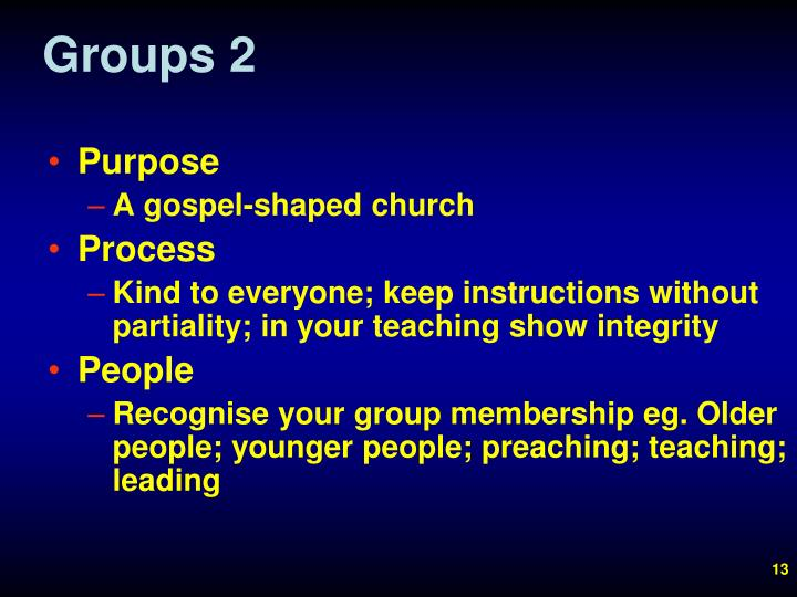 Groups 2