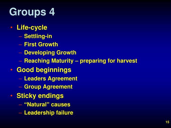 Groups 4
