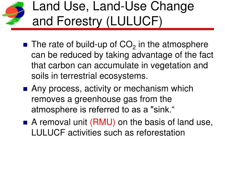 Land Use, Land-Use Change and Forestry (LULUCF)