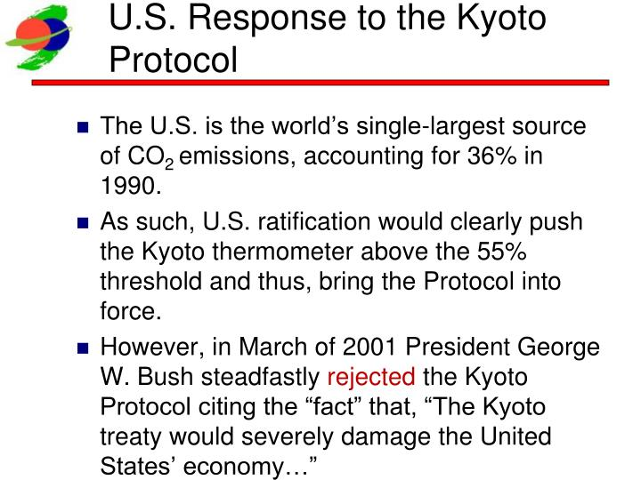 U.S. Response to the Kyoto Protocol