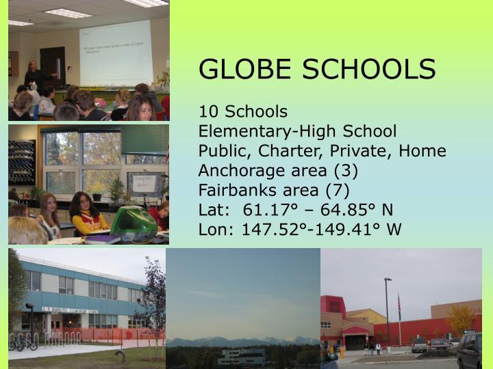 GLOBE SCHOOLS