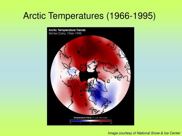 Arctic Temperatures (1966-1995)