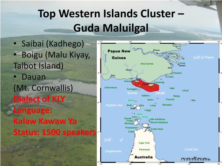 Top Western Islands Cluster –