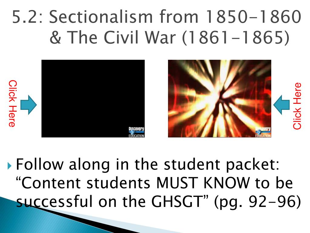 sectionalism civil war essay Essay example: sectionalism apush mid – term exam essay while the causes of the civil war can be attributed to various factors, the principal cause is considered to be sectionalism sectionalism is a term that describes a situation in which the needs or desires of individual parts become more important than the well-being of the greater.