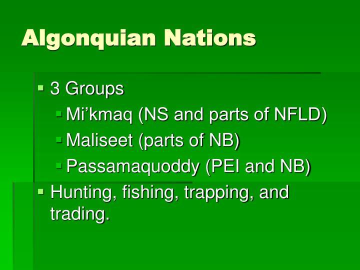 Algonquian Nations