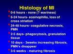 histology of mi
