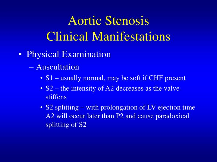 Ppt Aortic Stenosis Powerpoint Presentation Id 4501578