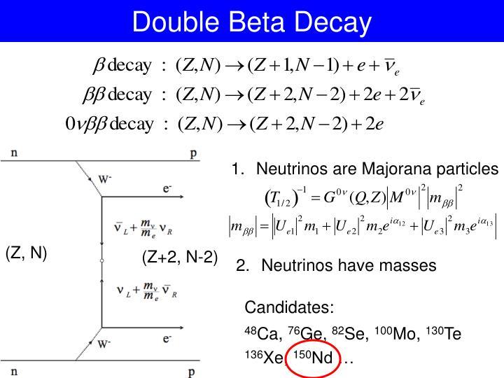 Double Beta Decay